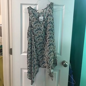 A patterned tank-top from Nordstrom.